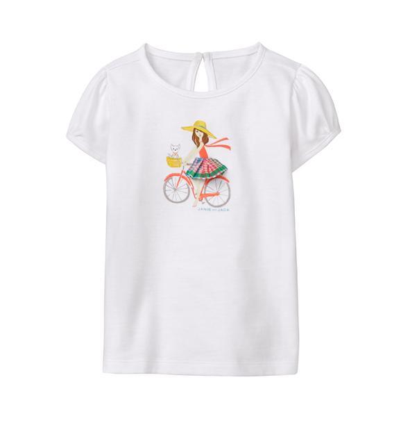 Bicycle Girl Tee