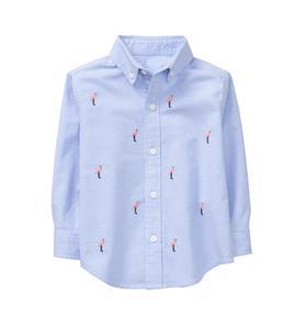 Flamingo Oxford Shirt