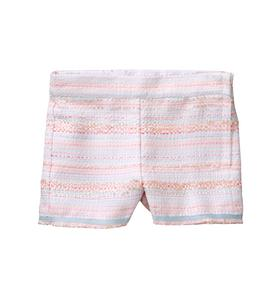 Striped Bouclé Short
