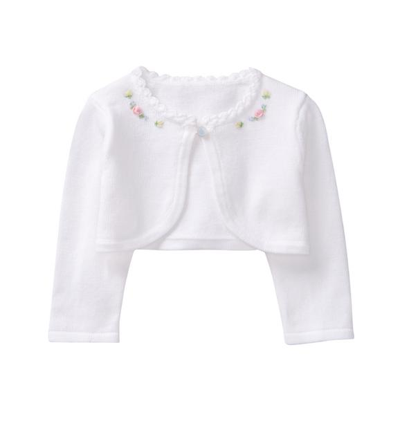 Cropped Bloom Cardigan