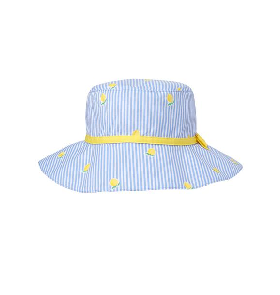 Striped Lemon Sun Hat