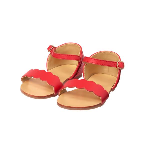 Scalloped Sandal