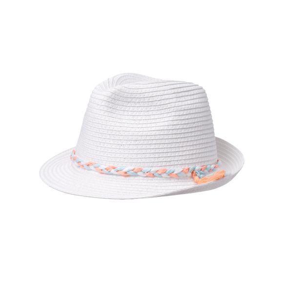 Braided Straw Fedora