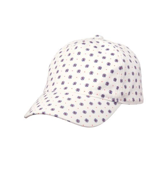 Floral Dot Cap