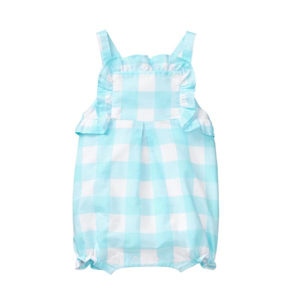 Gingham Ruffle 1-Piece