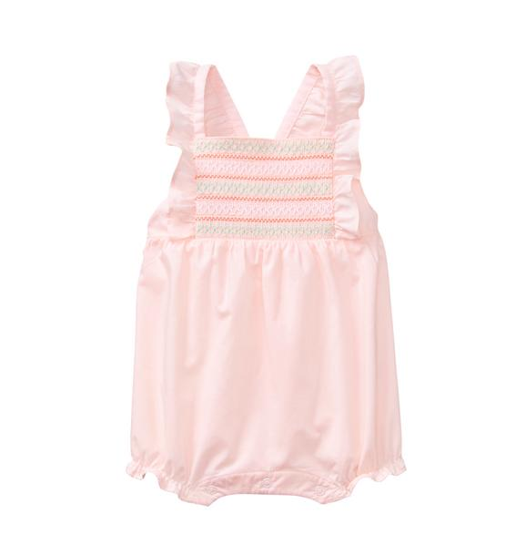 Smocked Ruffle 1-Piece