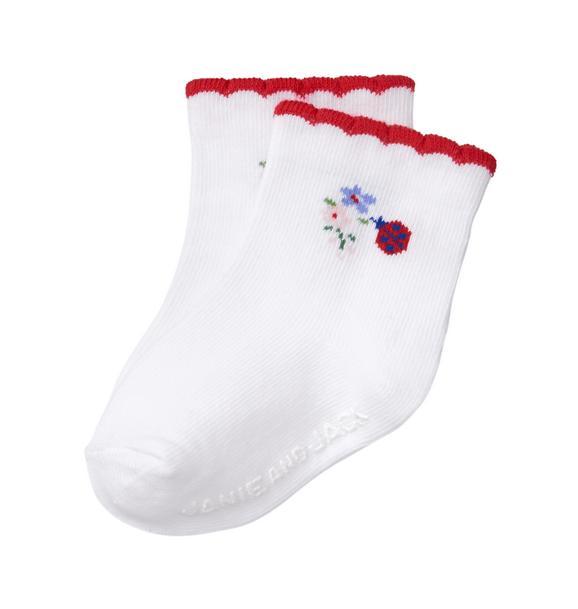 Ladybug Sock