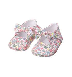 Floral Crib Shoe