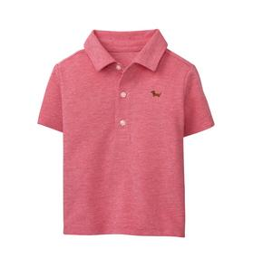 Embroidered Dachshund Polo