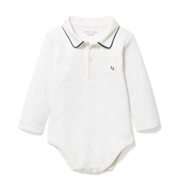 Baby Polo Bodysuit