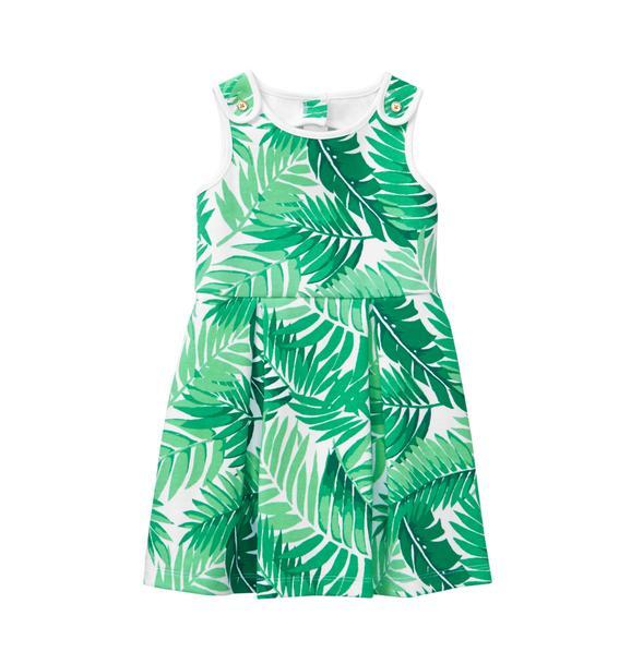 Palm Ponte Dress