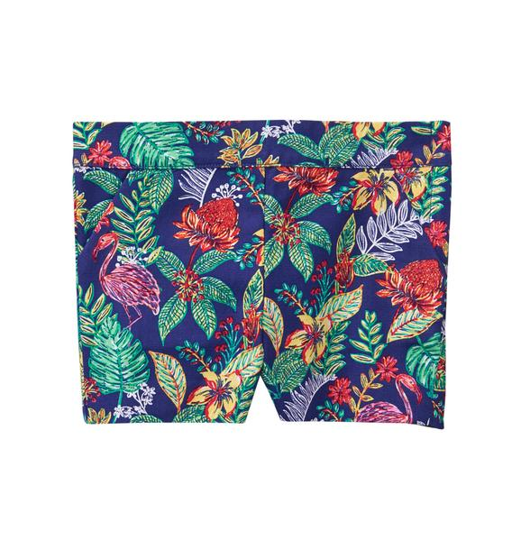 Tropical Canvas Short