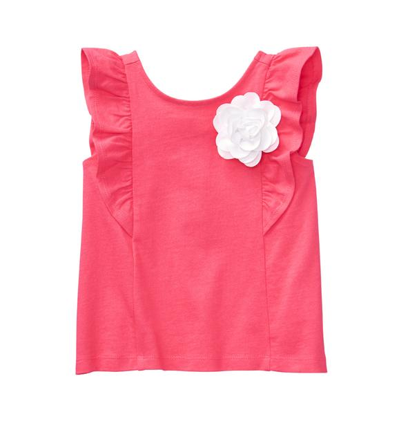 Ruffle Bloom Top