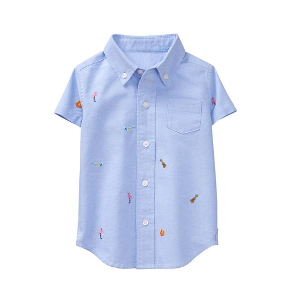 Tropical Oxford Shirt