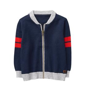 Varsity Sweater Cardigan