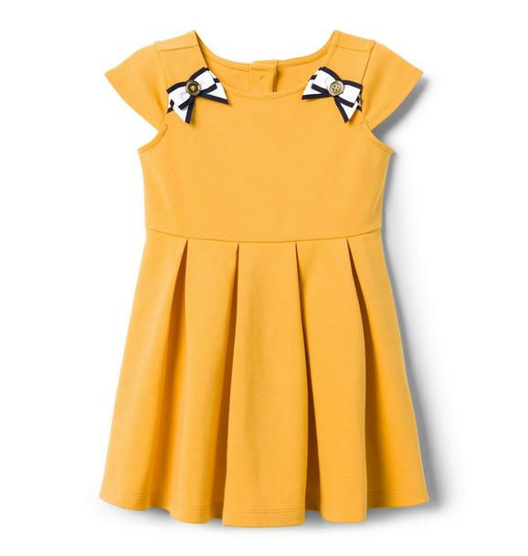 Ribbon Ponte Dress