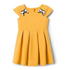 Ribbon Ponte Dress