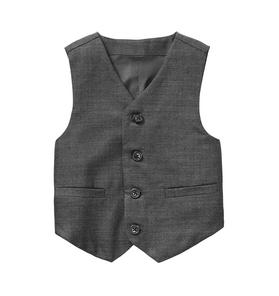Wool Herringbone Suit Vest