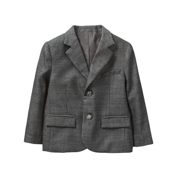 Wool Herringbone Blazer