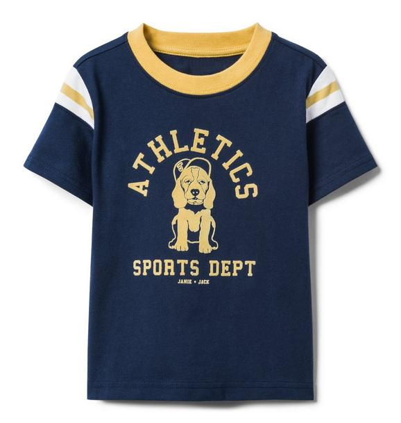 Athletic Dog Tee