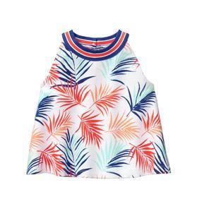 Palm Print Top