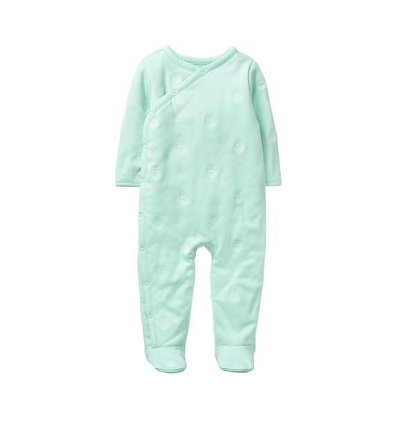 Footed Owl 1-Piece