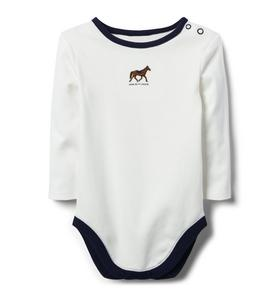 Embroidered Horse Bodysuit