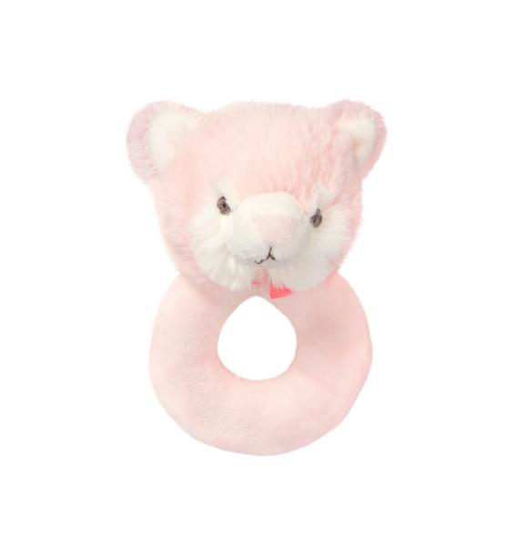 Plush Cat Rattle