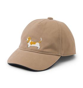 Embroidered Dog Cap