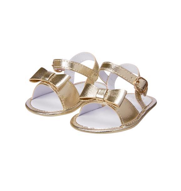 Metallic Crib Sandal