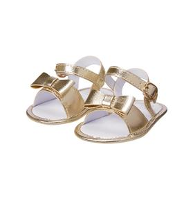 Metallic Crib Sandal