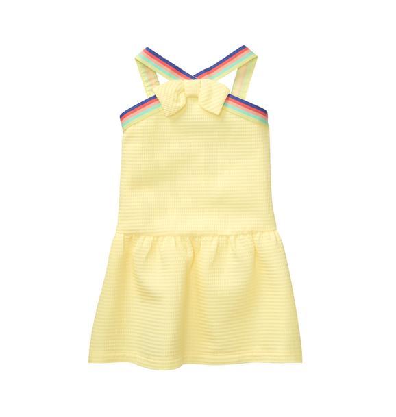 Waffle Bow Dress