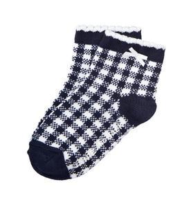 Gingham Sock
