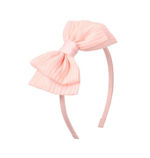 Organza Bow Headband