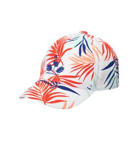 Embroidered Palm Print Cap