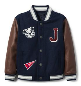 Wool Varsity Letterman Jacket