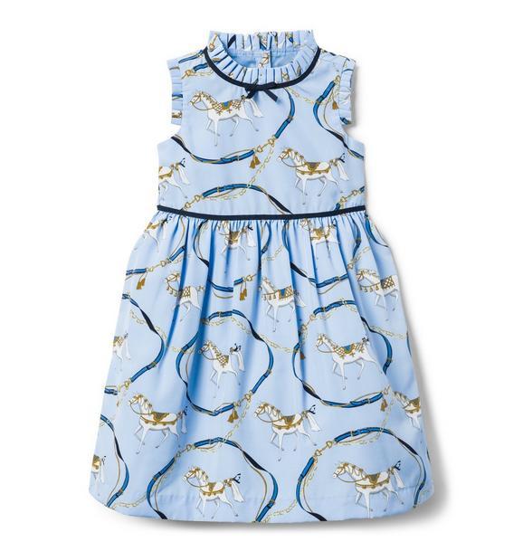 Horse Print Dress
