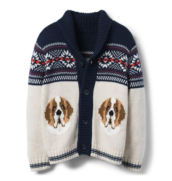 Dog Shawl Cardigan