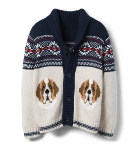Dog Shawl Cardigan