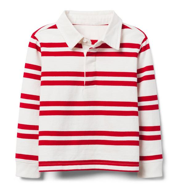 Striped Rugby Tee