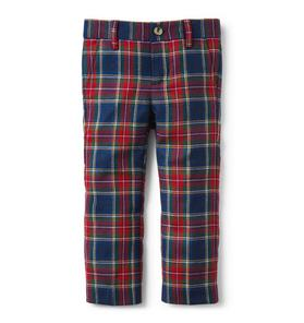 Tartan Wool Pant