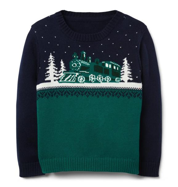 Train Crewneck Sweater
