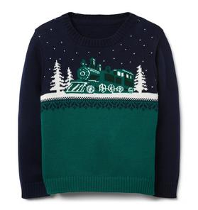 Train Crewneck Sweater