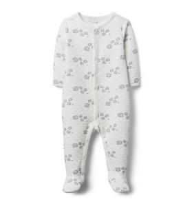 Quilted Sheep Footed 1-Piece