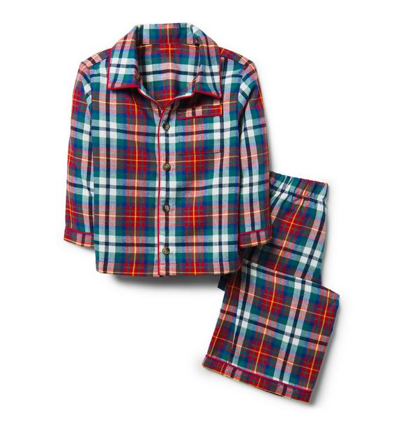 Plaid Pajama Set