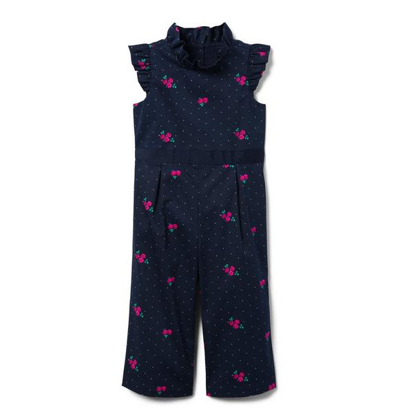 Floral Dot Jumpsuit