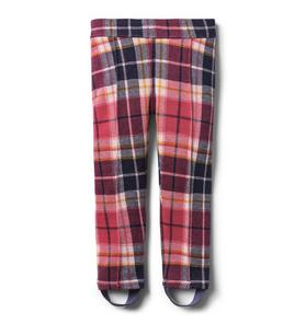 Plaid Stirrup Pant