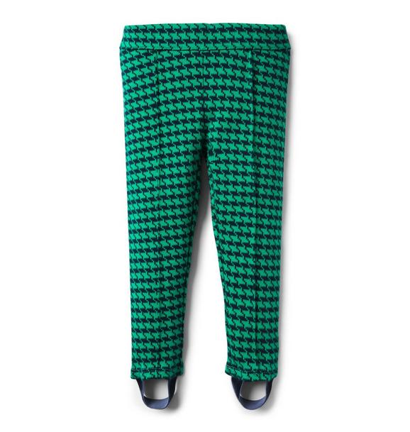 Houndstooth Stirrup Pant