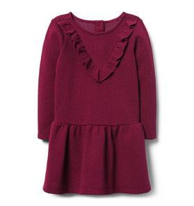Shimmer Dropwaist Dress