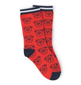 Bulldog Boot Sock